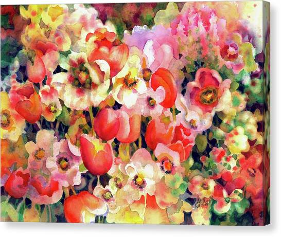 Belle Fleurs II Canvas Print