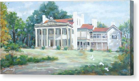Belle Meade Plantation Canvas Print by Sandra Harris