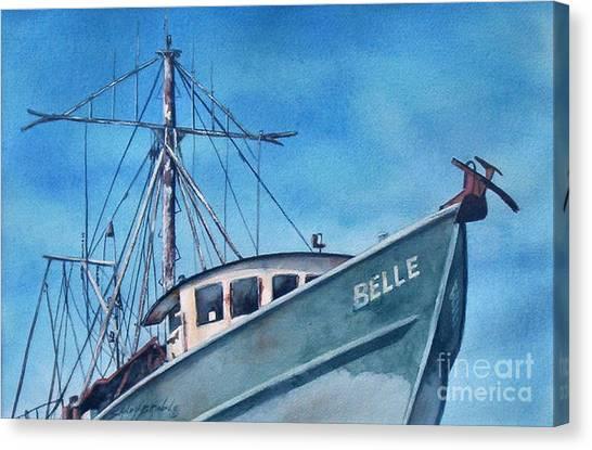 Belle Original Canvas Print