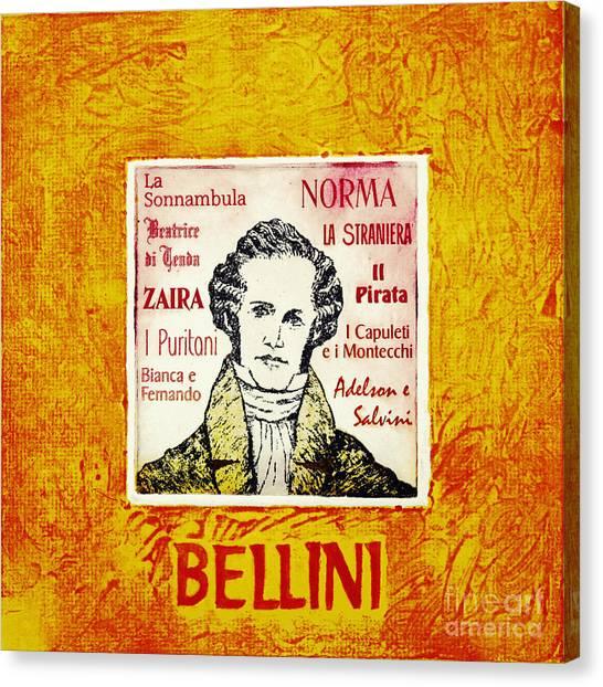 Bellini Portrait Canvas Print by Paul Helm