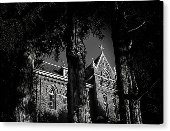 Belmont University Canvas Print - Belmont Abbey by Jessica Brawley