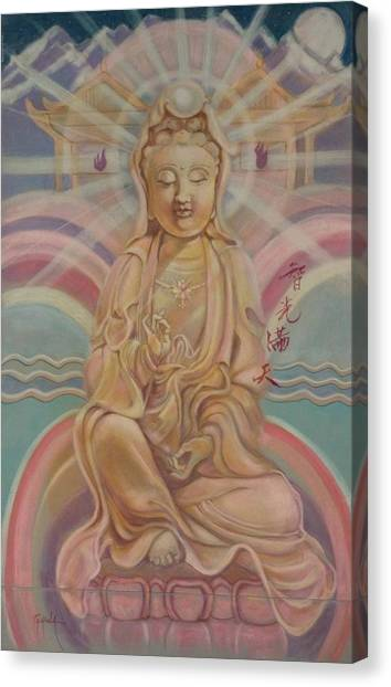 Beloved Quan Yin Canvas Print