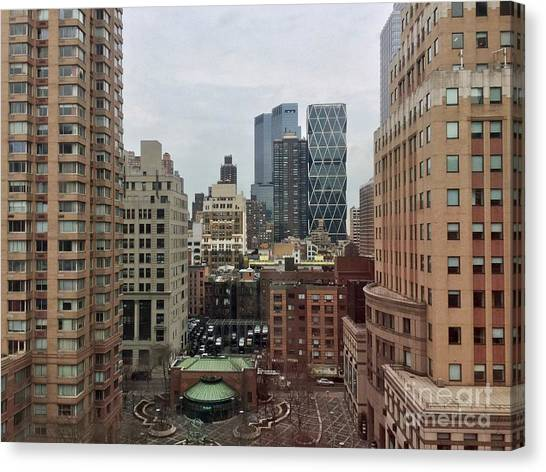 Belvedere Hotel New York City  Room With A View Canvas Print