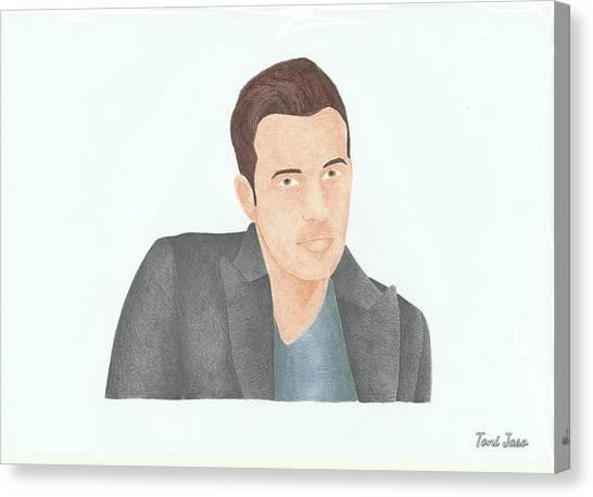 Ben Affleck Canvas Print