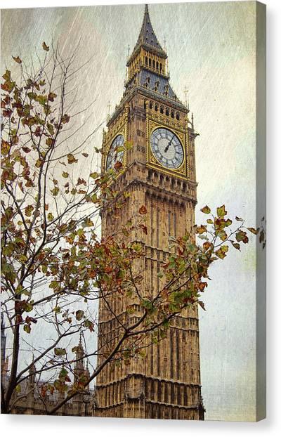 Ben In Autumn Canvas Print by JAMART Photography