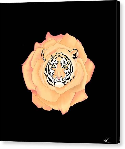 Bengal Blossom Canvas Print