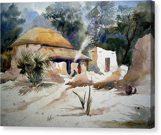 Bengal Village Canvas Print