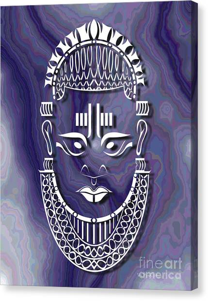 Benin Queen Mother Canvas Print