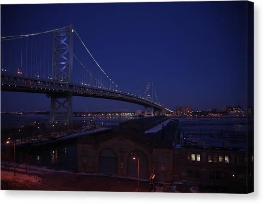 Benjamin Franklin Bridge Canvas Print