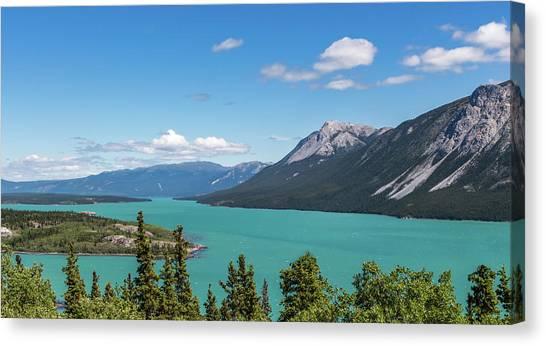 Tagish Lake Canvas Print