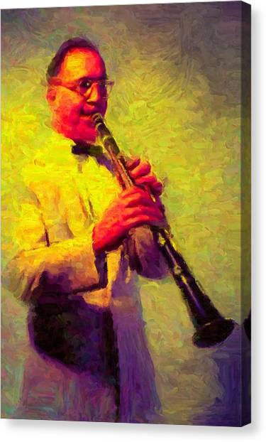 Benny Goodman Canvas Print