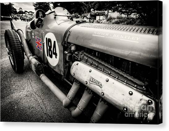 Cockpits Canvas Print - Bentley Classic by Adrian Evans