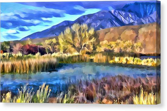 Benton Pond Canvas Print