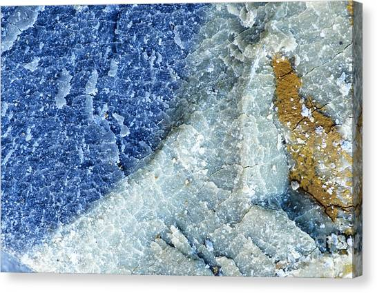 Drywall Canvas Print - Bentonite Specimen by Inga Spence