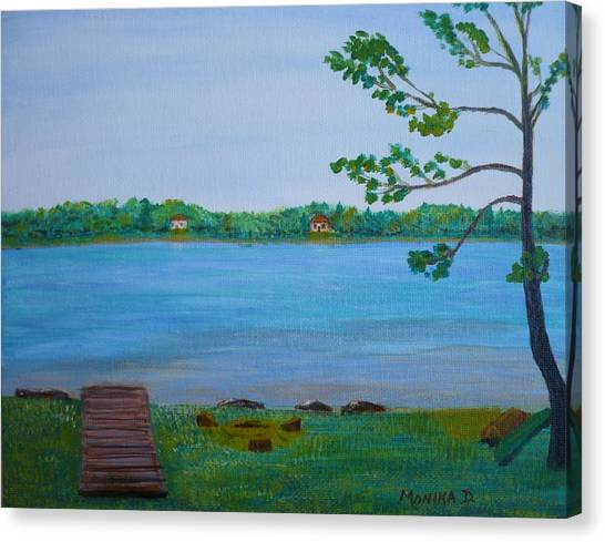 Berford Lake In Ontario Canvas Print