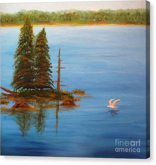 Berford Lake2 Canvas Print