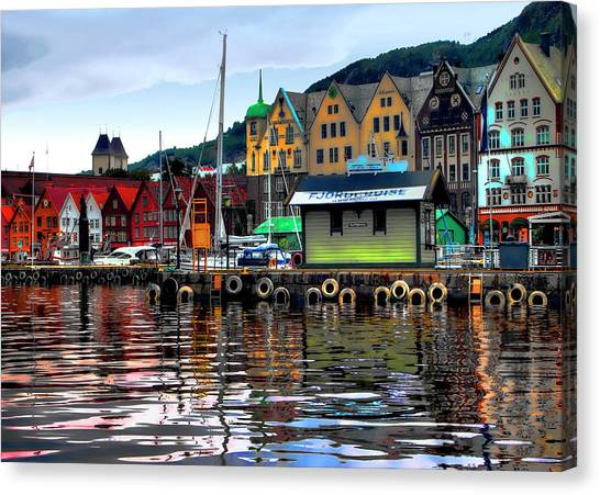 Bergen Colors Canvas Print