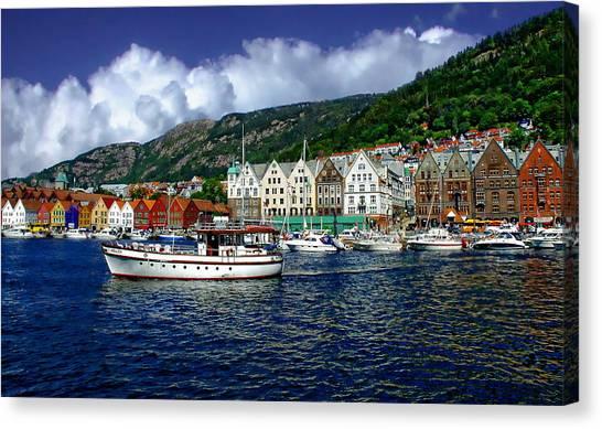 Bergen - Norway Canvas Print