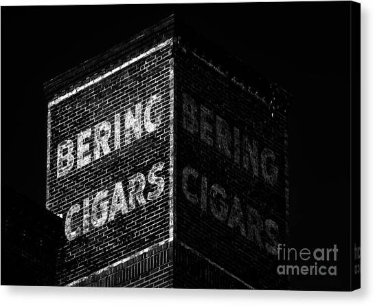 Bering Cigar Factory Canvas Print