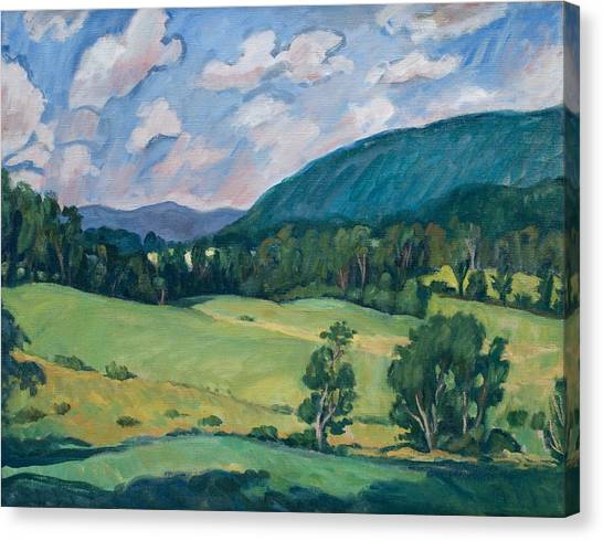 Berkshires Summer Canvas Print