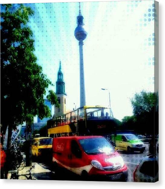 Berlin Canvas Print - #berlin by Christoph Koenemund