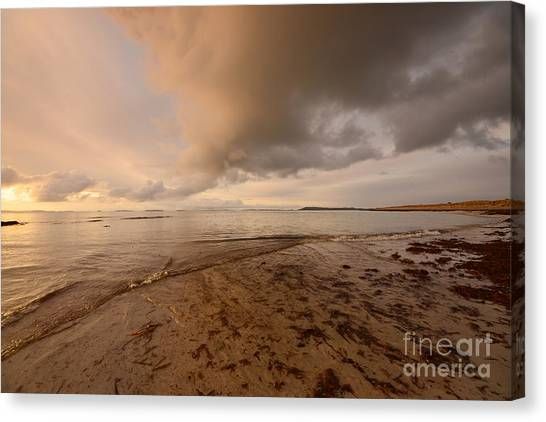 Beach Sunrises Canvas Print - Berneray Dawn by Smart Aviation