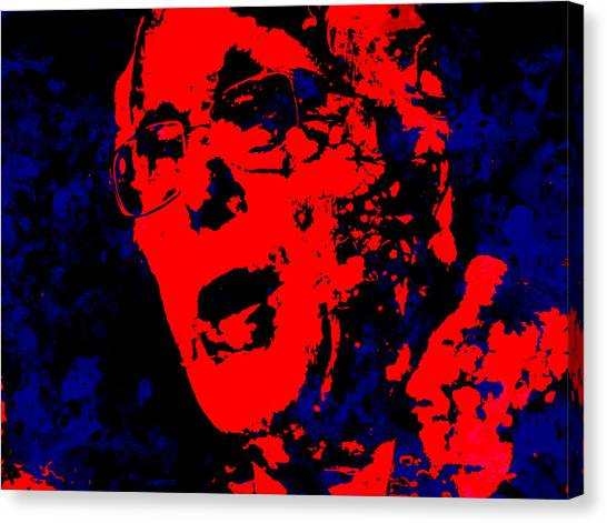 Ted Cruz Canvas Print - Bernie 16 by Brian Reaves