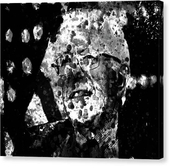 Ted Cruz Canvas Print - Bernie Sanders 1b by Brian Reaves