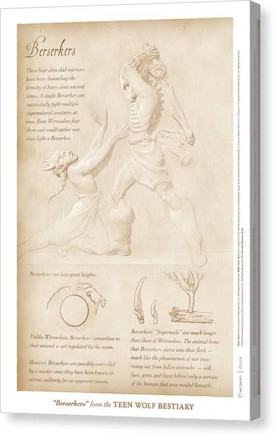 Berserkers Canvas Print