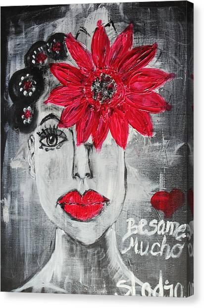Besame Mucho Canvas Print
