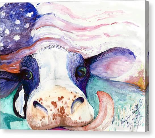 Bessie Canvas Print