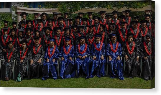 Mba Canvas Print - Best Commerce College In Ahmedabad by Sudhir Nanavati