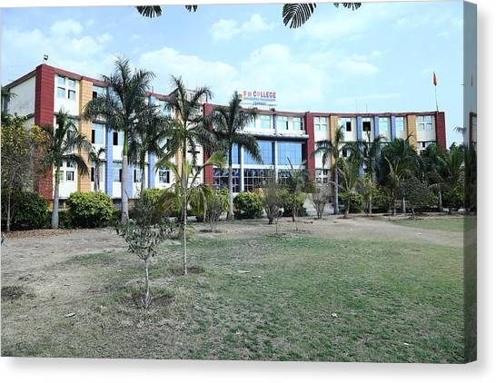 Mba Canvas Print - Best Cs And It Engineering College In Mp, India by Bm College
