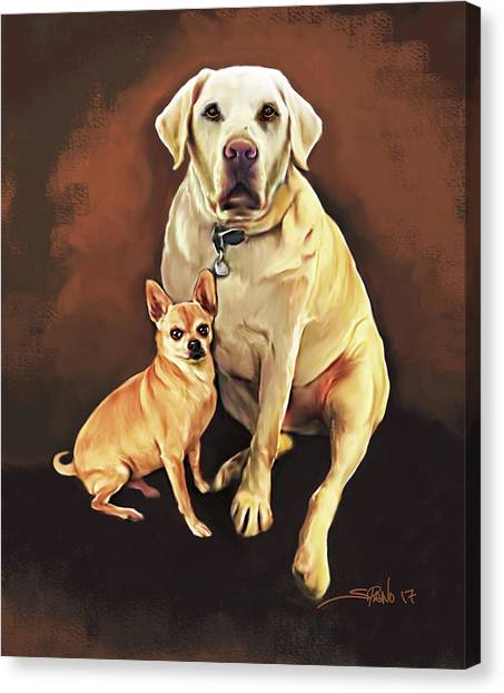 Best Friends By Spano Canvas Print