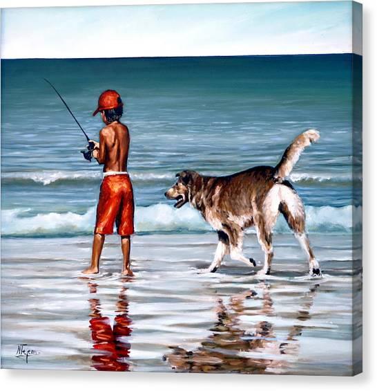 Best Friends II Canvas Print
