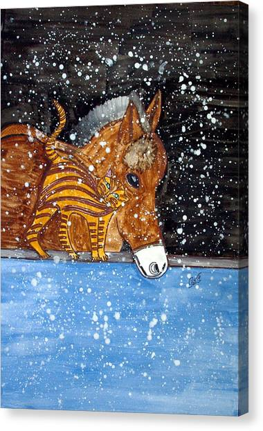 Best Friends. Canvas Print by Patricia Fragola