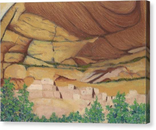 Betatakin Cliffdwellers Canvas Print