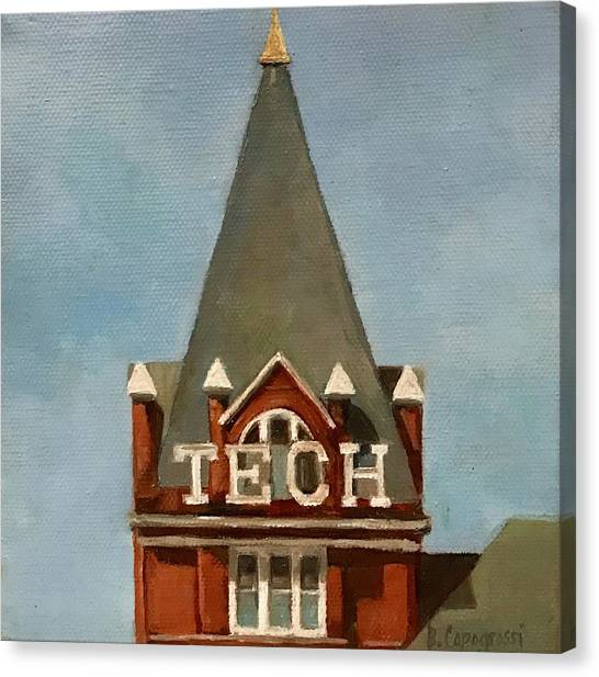 Georgia Institute Of Technology Georgia Tech Canvas Print - Beth Capogrossi by Beth Capogrossi