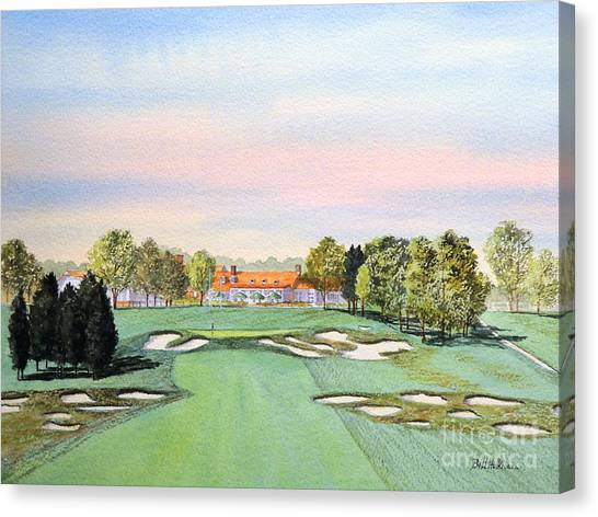 Bethpage State Park Golf Course 18th Hole Canvas Print