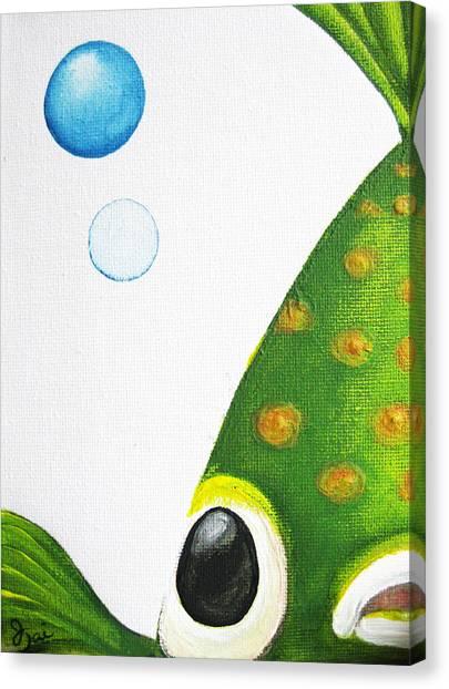 Betta Bubble Canvas Print