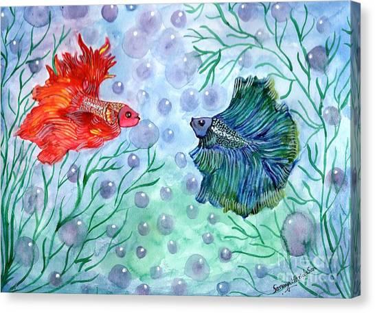 Betta Magic Canvas Print