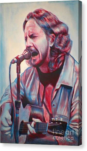 Pearl Jam Canvas Print - Betterman by Derek Donnelly