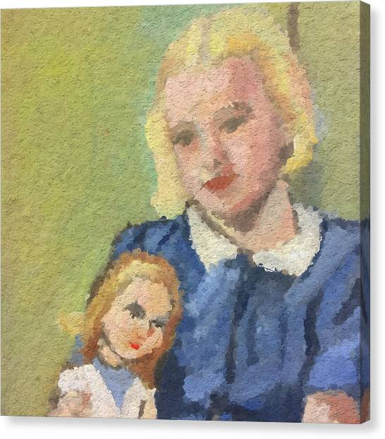 Canvas Print - Betty Winthrop by Modern Art