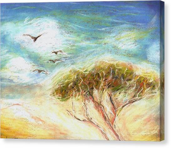 Betty's Tree Canvas Print