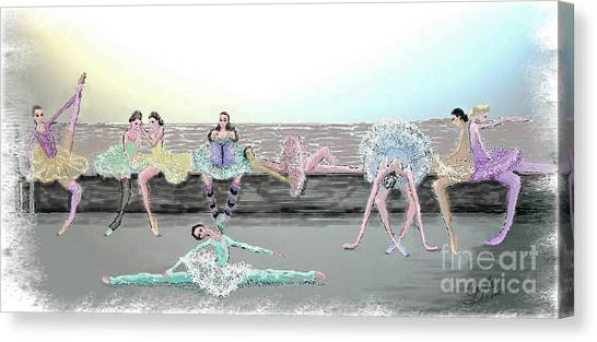 Between Acts Canvas Print by Cynthia Sorensen