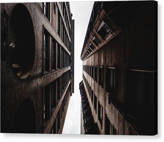 Between Buildings In Saint Louis Canvas Print by Dylan Murphy