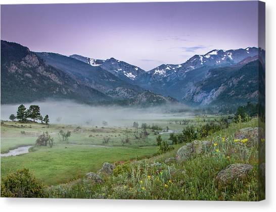 Between Night And Day Canvas Print
