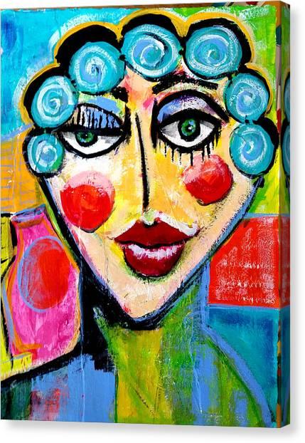Beulah - Vivid Vixen 2 Canvas Print