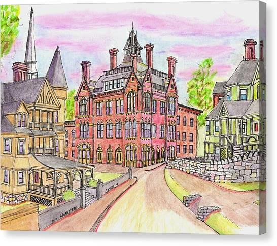Beverly Odd Fellows Hall Canvas Print