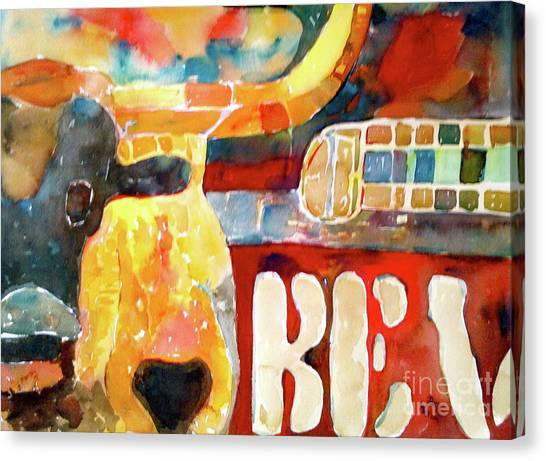 Bevo Unplugged Canvas Print